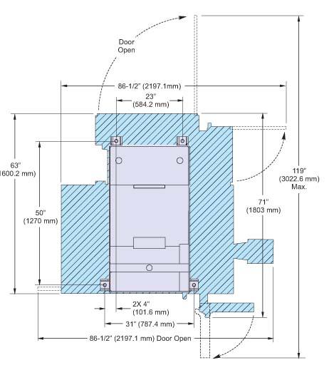 Mini Mill установочный чертеж фрезерного вертикального компактного обрабатывающего центра