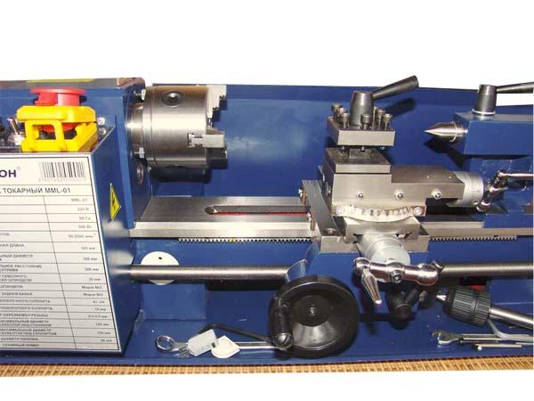 MML-01 Общий вид токарного станка