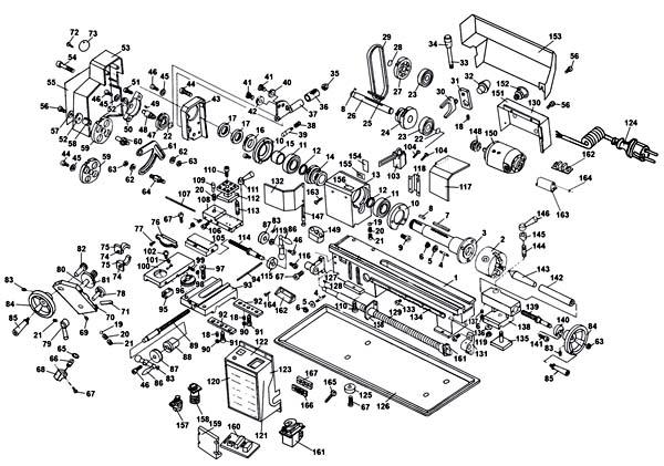 MML-01 Схема сборки токарного станка