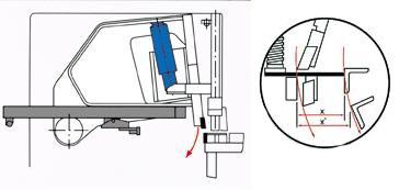 Ножницы гильотинные с качающейся (консольной) балкой