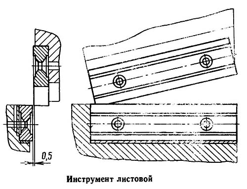 НВ5222 Крепление ножей для резки листового металла