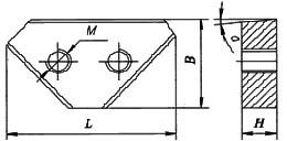 НВ5222 Нож для пресс-ножниц