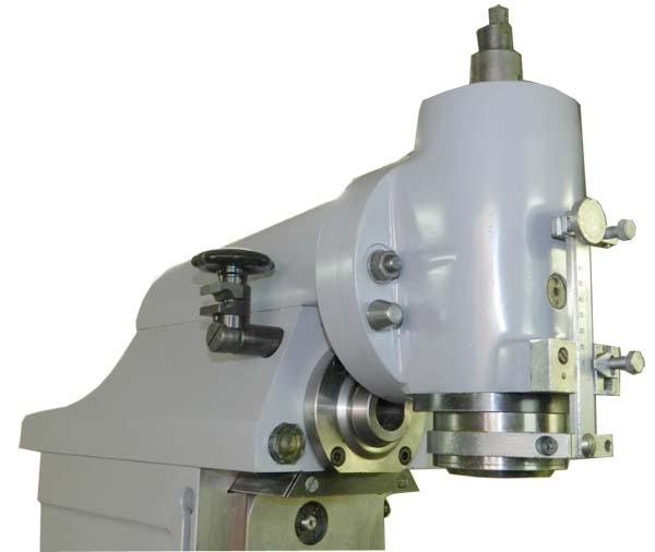 Вертикальная фрезерная головка широкоуниверсального фрезерного станка ОФ-55