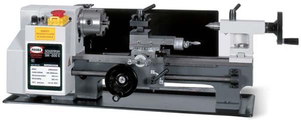 Общий вид токарного станка SM-300E