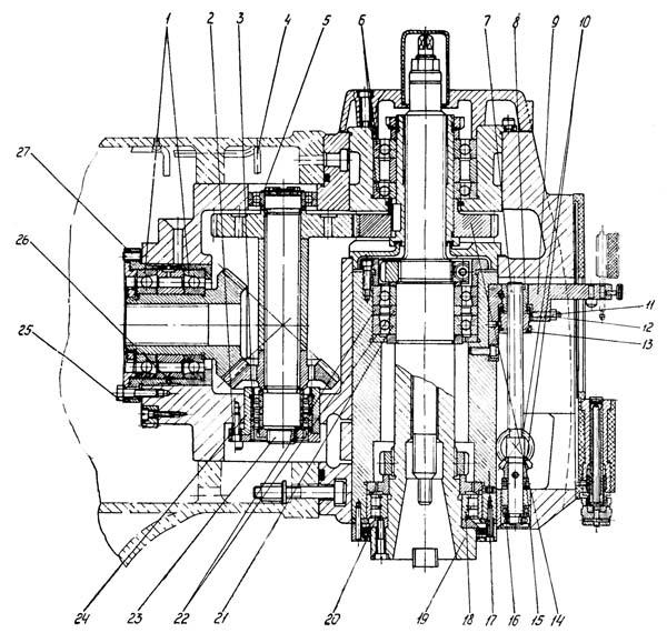 6С12 Шпиндельная головка консольно-фрезерного станка
