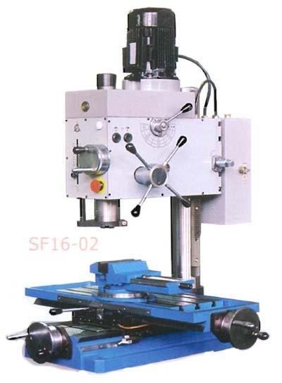 СФ-16-02 Общий вид фрезерно-сверлильного станка