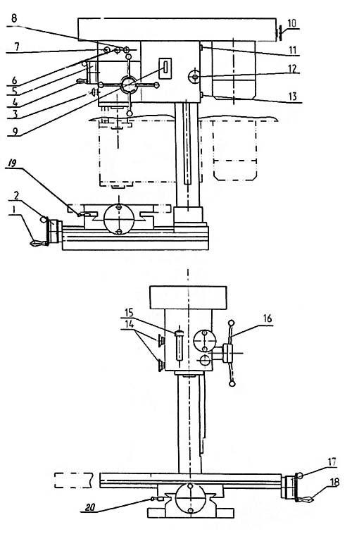 управления станком СФ-16
