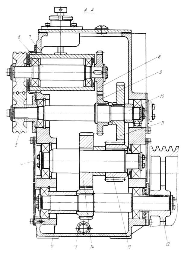 СМЖ-357 Механизм подачи станка для правки и резки арматуры