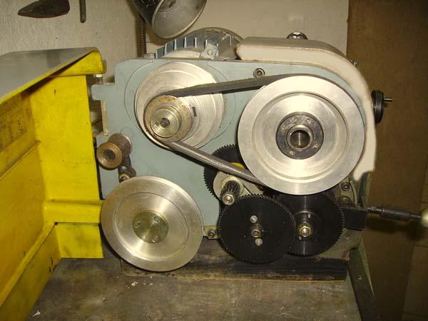 ТН-1М Сменные зубчатые колеса цепи привода подач