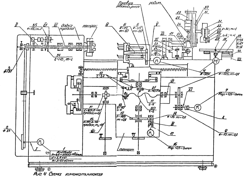изготовление токарного станка самому схема