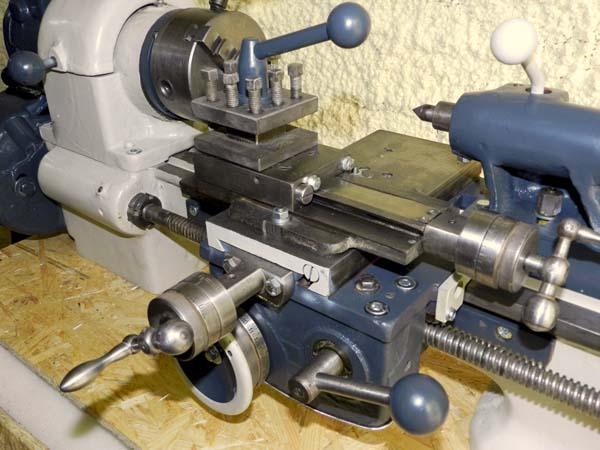 ТВ16 Общий вид токарно-винторезного станка