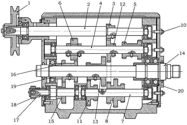 ТВ-4 Передняя бабка токарно-винторезного станка