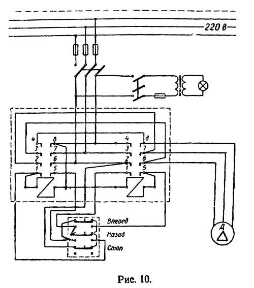 ТВ4 Схема электрическая