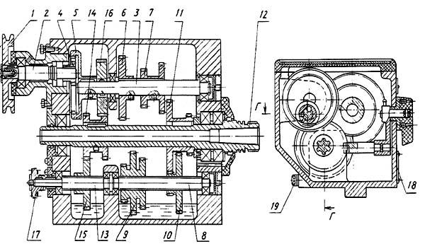 ТВ-9 Передняя бабка станка токарно-винторезного станка