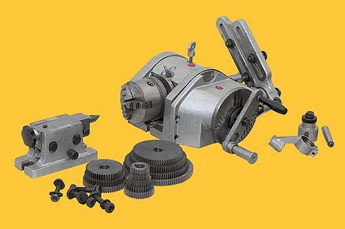 Общий вид универсальной делительной головки УДГ-160