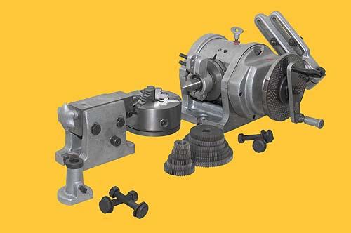 Общий вид универсальной делительной головки УДГ-200