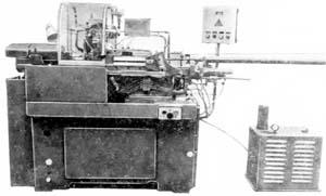 11Т16А Общий вид токарного станка продольного точения