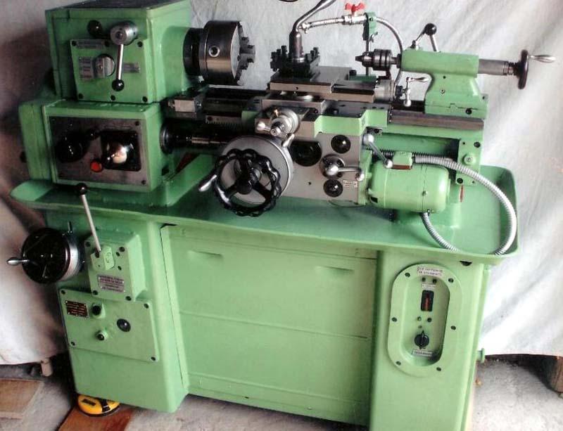 1604 Общий вид токарно-винторезного станка
