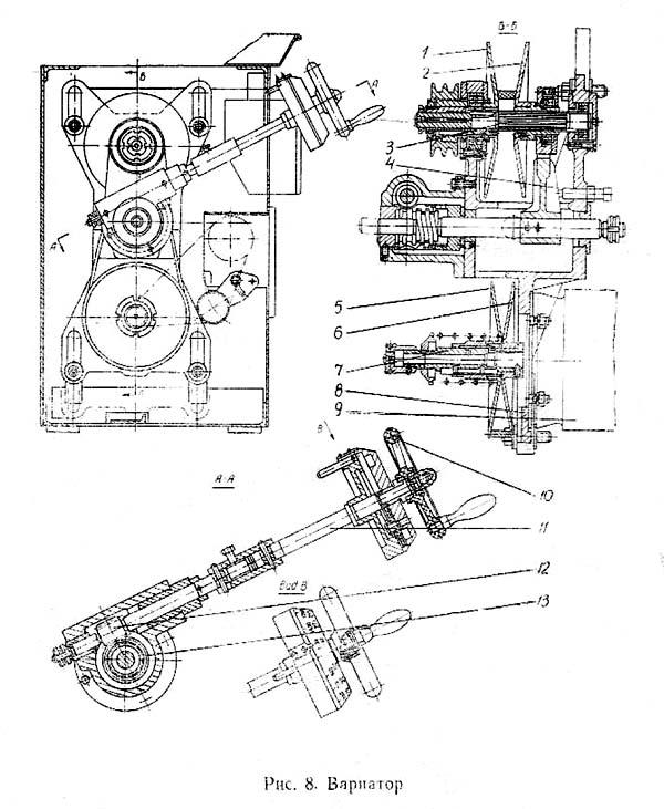 1604 Вариатор токарно-винторезного станка
