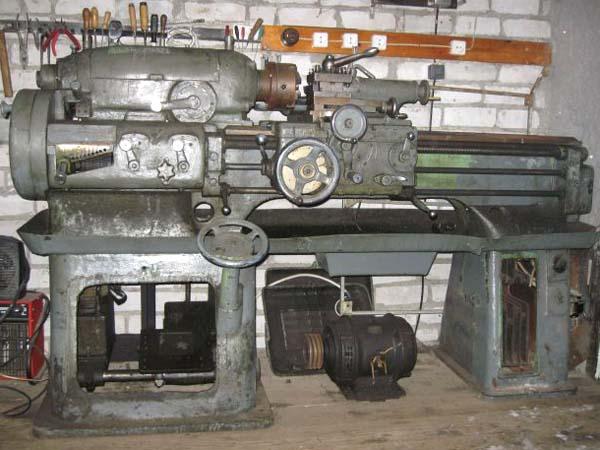 Общий вид токарно-винторезного станка 1615-а