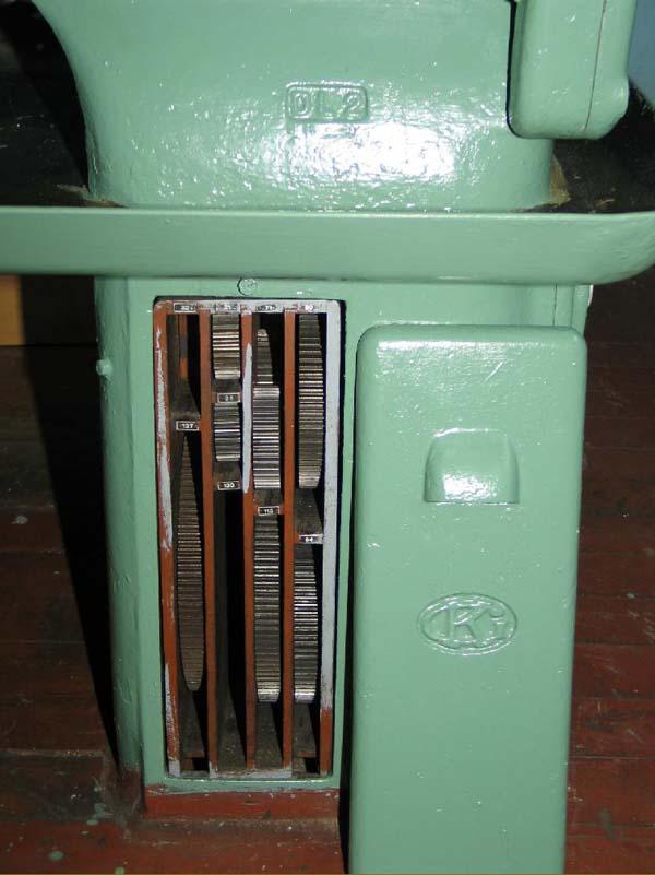 Общий вид токарно-винторезного станка DL-2 компании G.Kärger