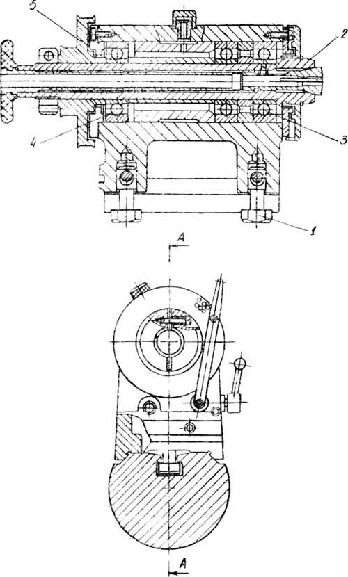 16Т02П и 16Т02А Передняя бабка токарного станка