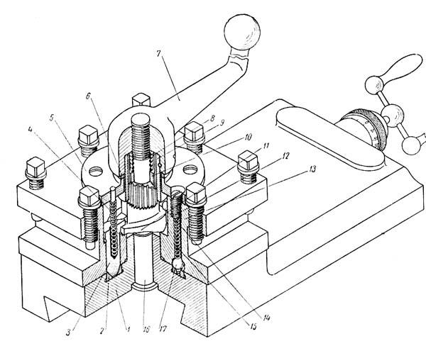 1а616, 1А616п, 1А616к Суппорт токарно-винторезного станка