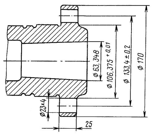 Станок токарно-винторезный 1Е95. Шпиндель