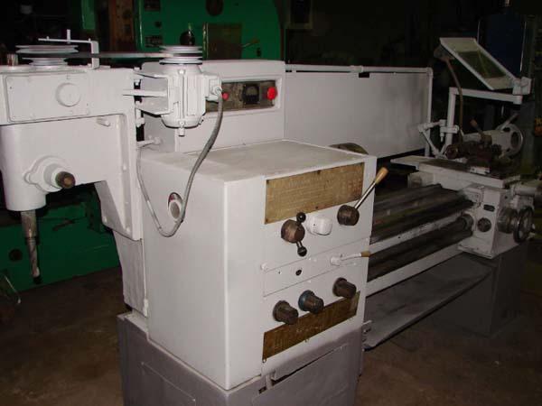Общий вид универсального токарно-винторезного станка 1Е95