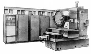 Станок сверлильно-фрезерно-расточной горизонтальный 2206ВМФ4 с ЧПУ и АСИ