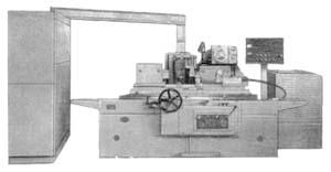 3М151ф2 общий вид универсального круглошлифовального станка с горизонтальным шпинделем