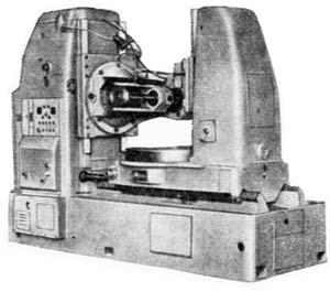 5К328а Общий вид зубофрезерного станка