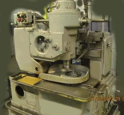 5В12 полуавтомат зубодолбежный. Общий вид