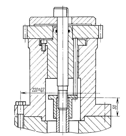 5В312 Посадочные и присоединительные базы зубофрезерного полуавтомата. Установочное приспособление