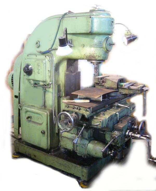 6Н12 Общий вид консольно-фрезерного станка
