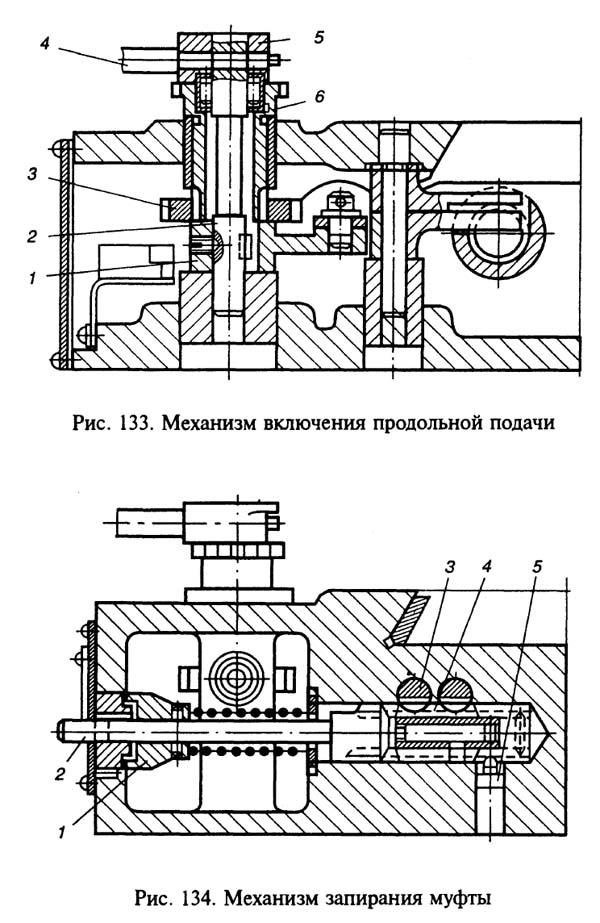 Механизм автоматического цикла консольно-фрезерного станка 6Р82Ш