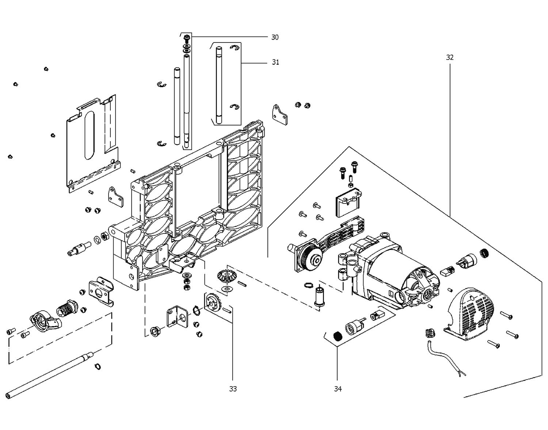 схема электромотора ydm-30t-4a