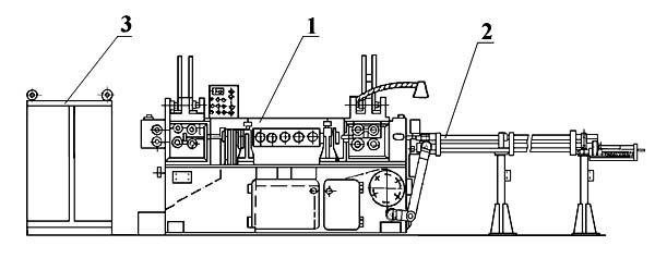 ГД162 Общий вид станка для правки и резки арматуры