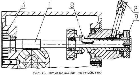 ГС-520 Штурвальное устройство сверлильно-фрезерного станка