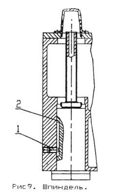 ГС-520 Шпиндель сверлильно-фрезерного станка