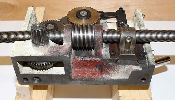 BD-920w Фото фартука токарно-винторезного станка