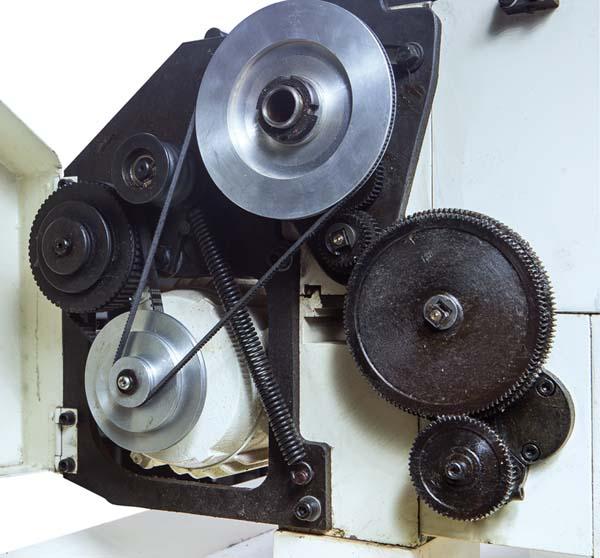 BD-920w Общий вид токарно-винторезного станка