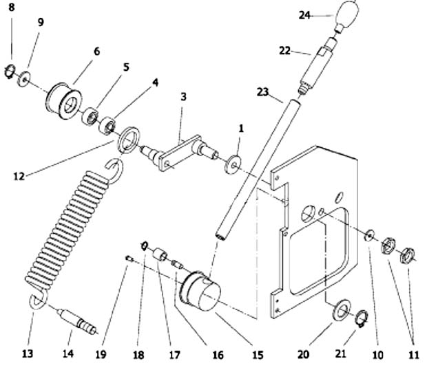 BD-920w Схема сборки токарно-винторезного станка BD-920w