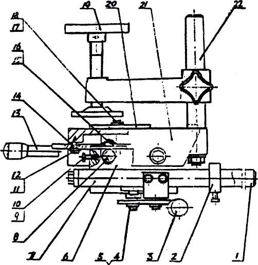 Сверлильный блок тип A на станке PKM-300