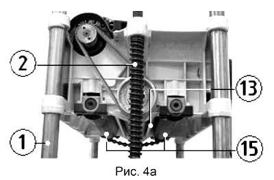 Состав рейсмусового станка Корвет-21