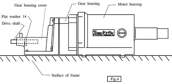 Установка моторного модуля рейсмуса Makita 2012