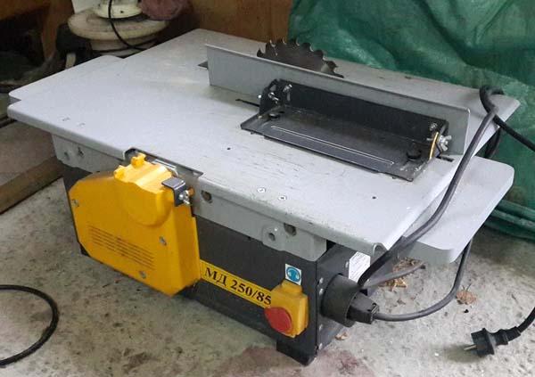 Общий вид комбинированного станка МД-250