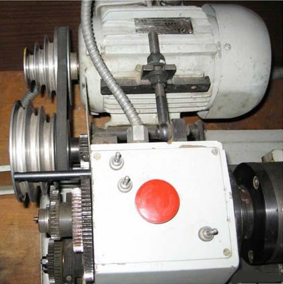 МК-3002 Фото главного привода токарного станка