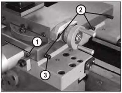 MML 250x550 Клиновая планка на поперечных салазках токарного станка