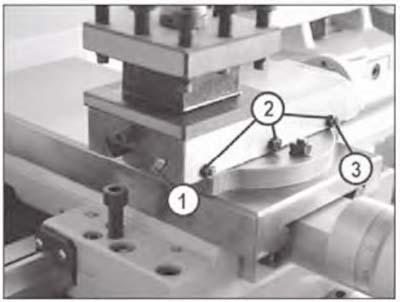 MML 250x550 Клиновая планка на верхних салазках токарного станка
